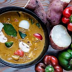 Sweet Potato Curry #maincourse