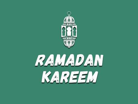ramadan kareem from the asian5 FAMILY!