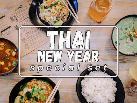 Celebrating Songkran with a tasty Thai offer for two…