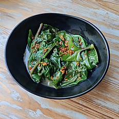 Wok-Fried Spinach #side