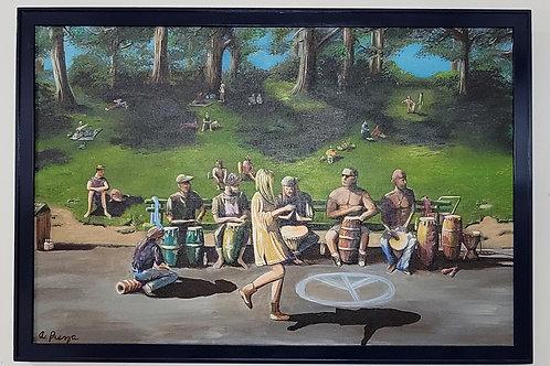 """""""Hippie Hill"""" by Antonio Preza"""