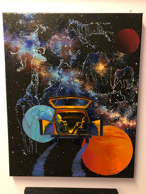 """Astro Safari"" by Anastasia Povysotska"