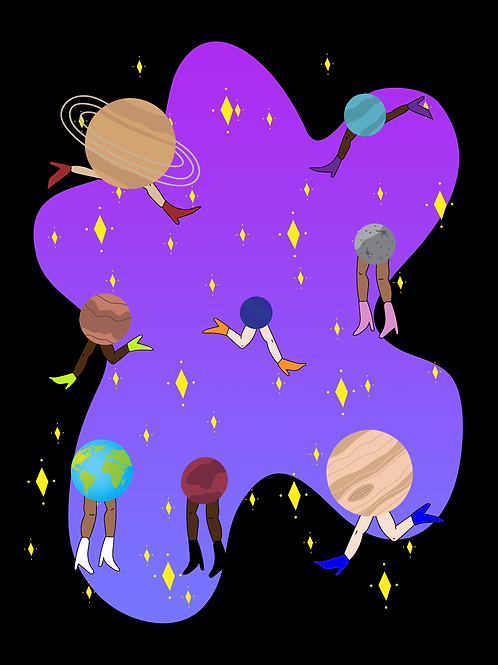 """""""Running with the Planets"""" by V.Elida"""