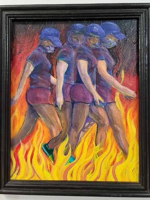 """Fire Walking"" by Doug Rhodes (ORIGINAL)"