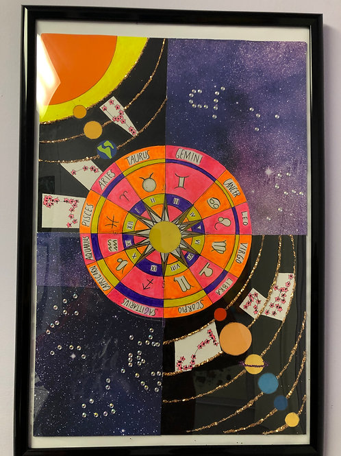 """Galaxy Zodiac"" by July Cordon"