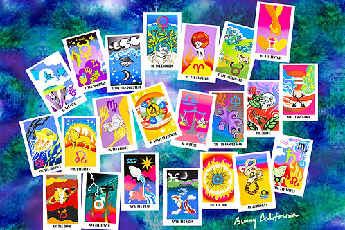 All the signs tarot by Bunny California