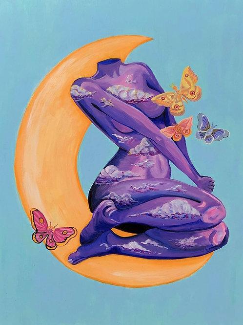 """""""Woman at Night"""" by Paola Lagunas"""
