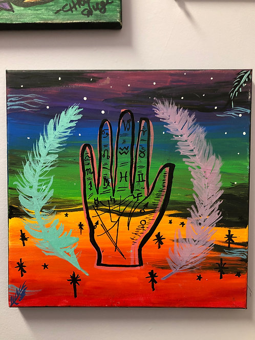 """""""Palm Reader Rainbow"""" by Charcas"""
