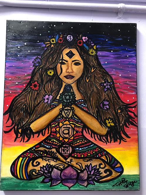 """Chakra Goddess"" by Charcas"