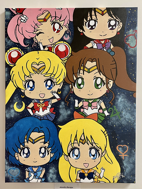 """Mini Sailor Warriors"" by Alondra Barajas"
