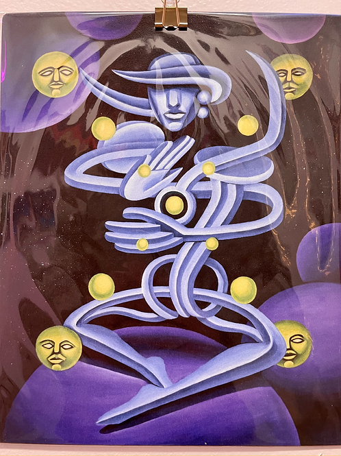 Meditations 1 by Alex Sodari