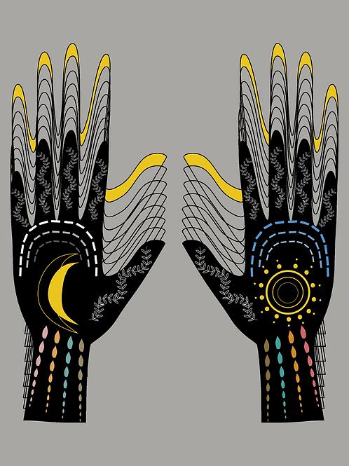 """Cosmological Handprint"" by V.Elida"