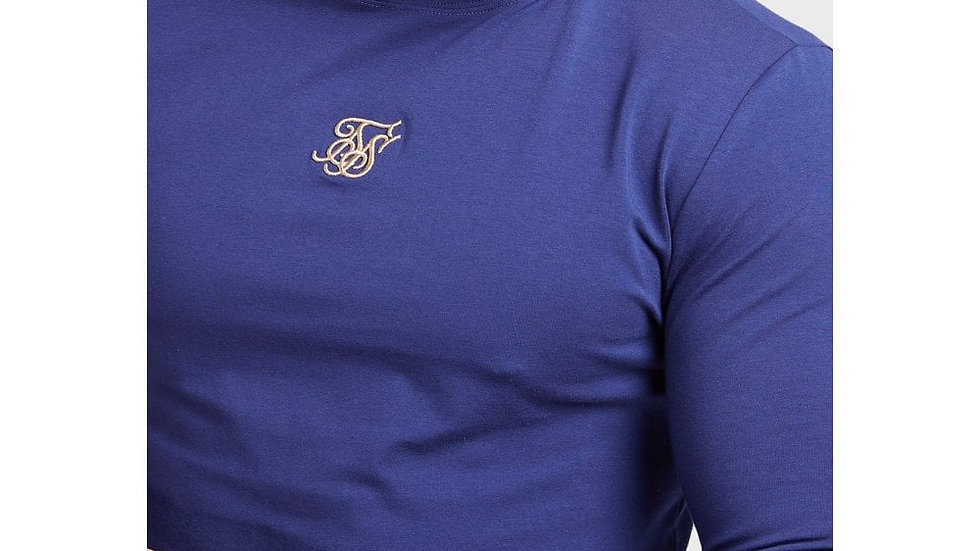 SS-15761 TEE COLLAR NVY/GOLD