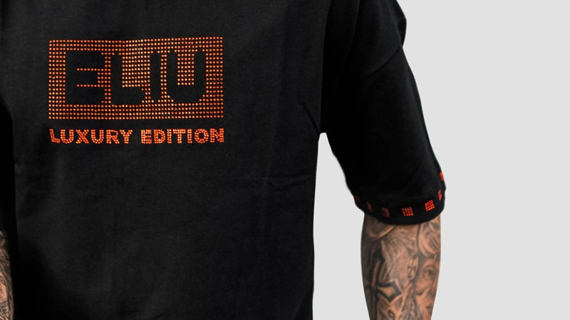 ELIU-012 T-SHIRT OVERSITE LIMITED EDITION BLK