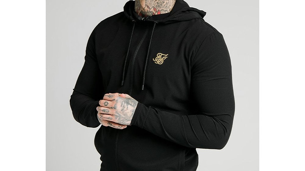 SS-17951 HOODIE AGILITY BLK