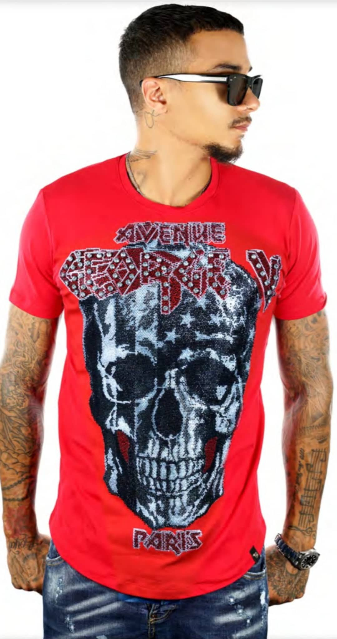 GV-2058 TEE RED