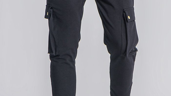 GKM-1642 JOGGERS BARCODE BLK