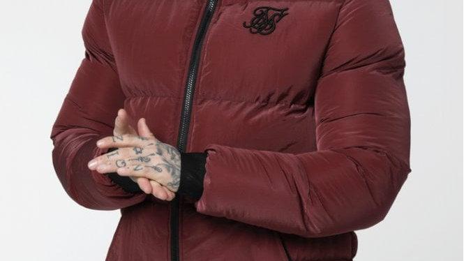 SikSilk  Distance Jacket – Burgundy