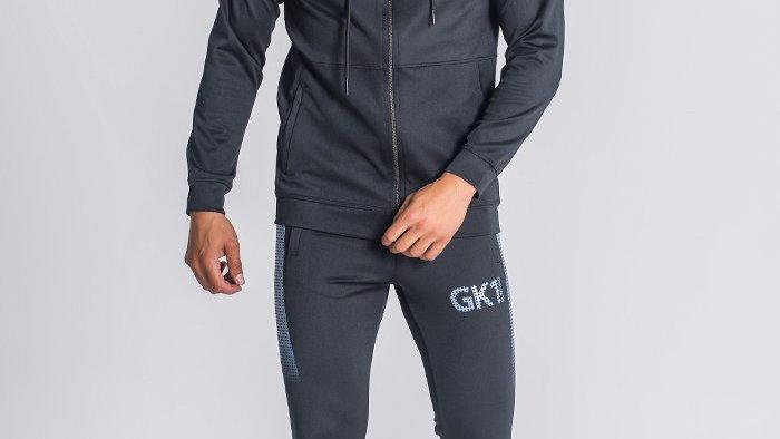 Black GK1 Hoodie Jacket