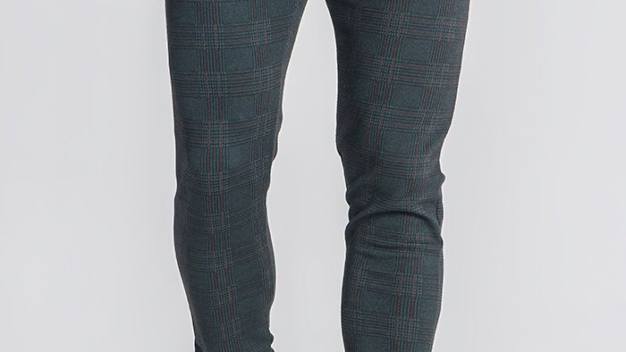 GKM-1498 Green Oxford Pants