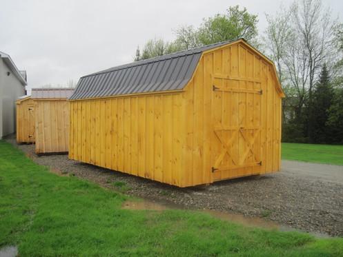 Amish Built 10 x 18 Barn West Quebec Sheds SOLD