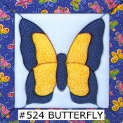#524 Mini Butteryfly