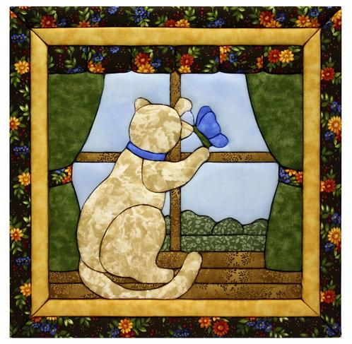 #166 Cat in the Window
