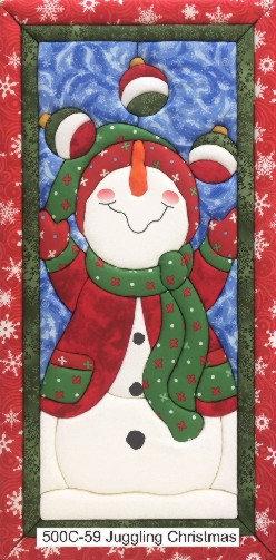 #500C-59 JUGGLING CHRISTMAS