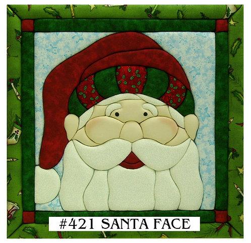 #421 Santa Face