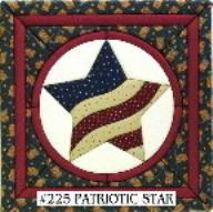 #225 Patriotic Star