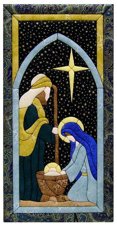 #500C-19 Nativity in Blues