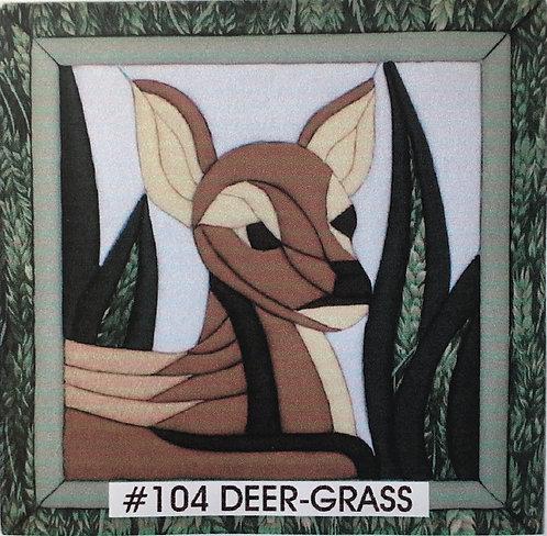 #104 Deer in Grass
