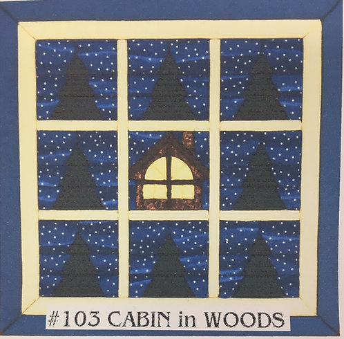 #103 Cabin in the Woods