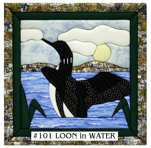 #101 Loon in Water