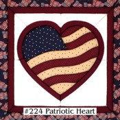 #224 Patriotic Heart