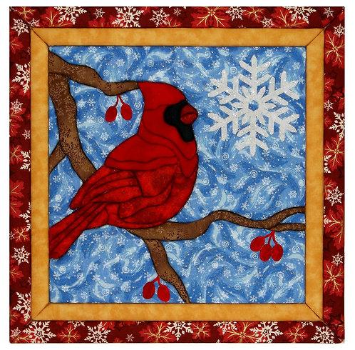 #445 Cardinal in Winter