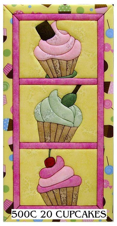 #500C-20 Cupcakes