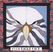 #114 Eagle Face