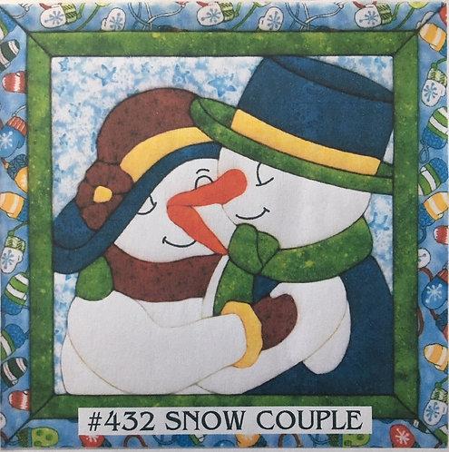 #432 Snow Couple