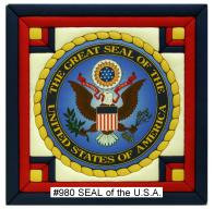 #980 Seal of the USA