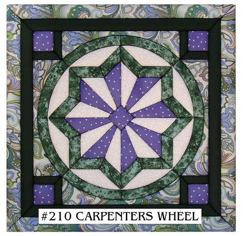 #210 Carpenters Wheel
