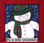 #516 Mini Snowman