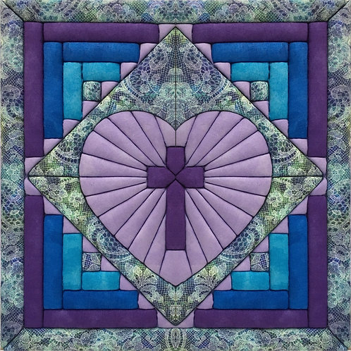 #873 Cross in Heart