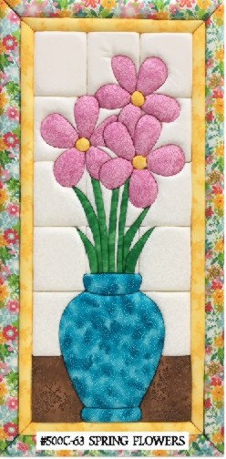 #500C-63 Spring Flowers