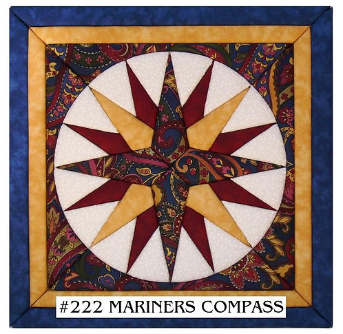 #222 Mariners Compass
