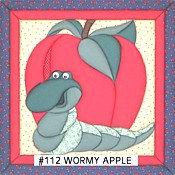 #112 Wormy Apple