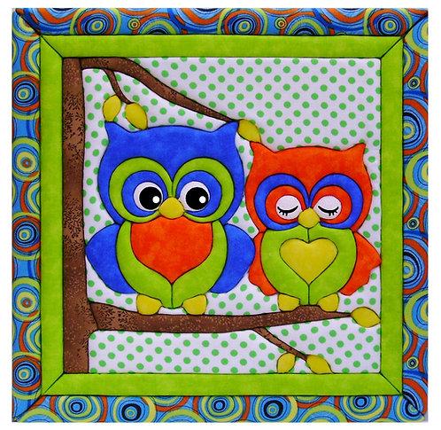 #828 Owl Family
