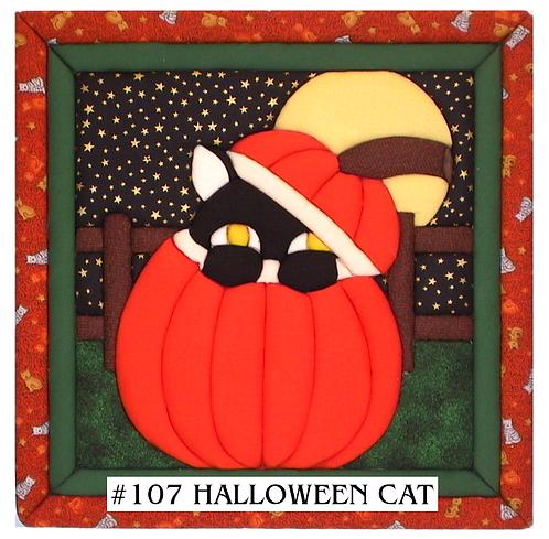 #107 Halloween Cat