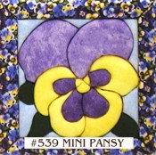 #539 Mini Pansy