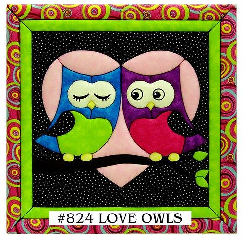 #824 Love Owls